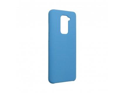 159719 pouzdro forcell soft touch silicone xiaomi redmi note 9 modre