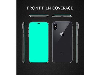 158645 3 ochranne tvrzene sklo x one full cover extra strong apple iphone 12 pro max 6 7 full glue cerne