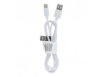 165584 kabel usb typ c 2 0 c363 1 metr bily koncovka 8mm