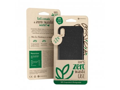 164774 pouzdro forcell bio zero waste case iphone 12 mini cerne