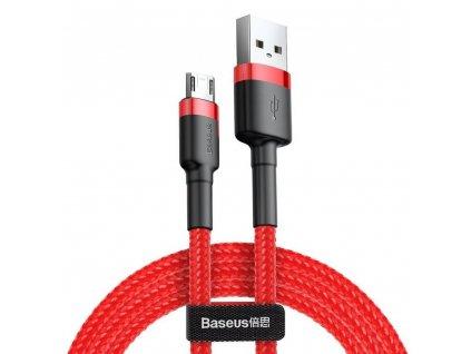 164087 baseus kabel usb cafule micro 1 5a 2 metry cerveny camklf c09