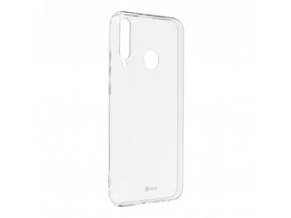 160052 3 pouzdro roar transparent tpu case huawei y7p transparentni