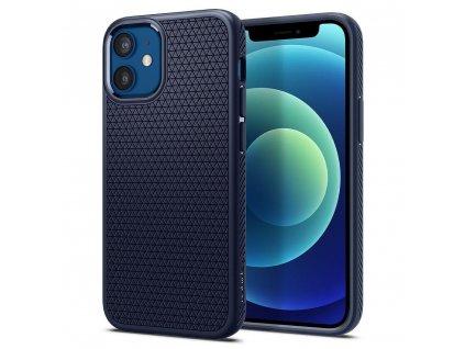 167507 pouzdro spigen liquid air apple iphone 12 mini navy blue