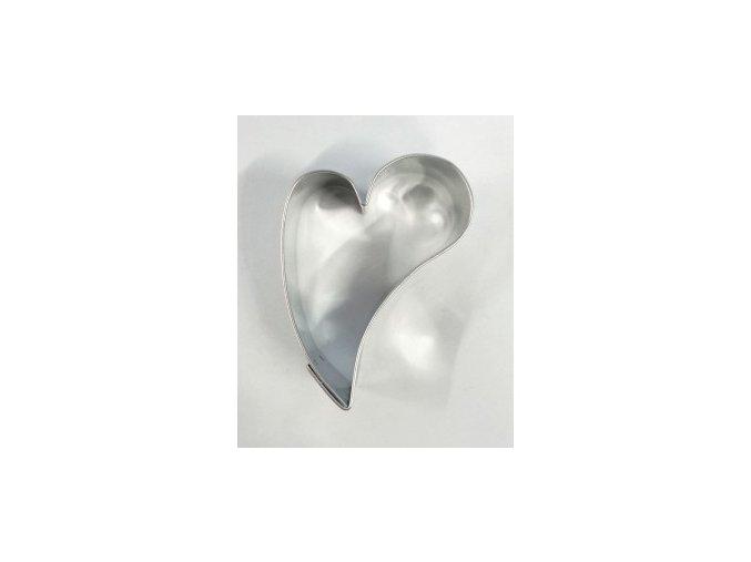 Srdíčko šikmé střední - kov