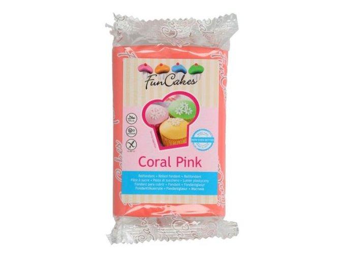 Fondánová hmota modelovací Coral 250 g