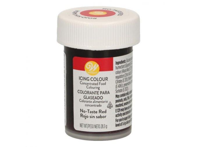Červená bez příchutě - red no taste - Wilton