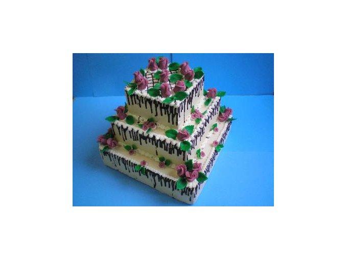 Čtverec 25x25 - dortforma