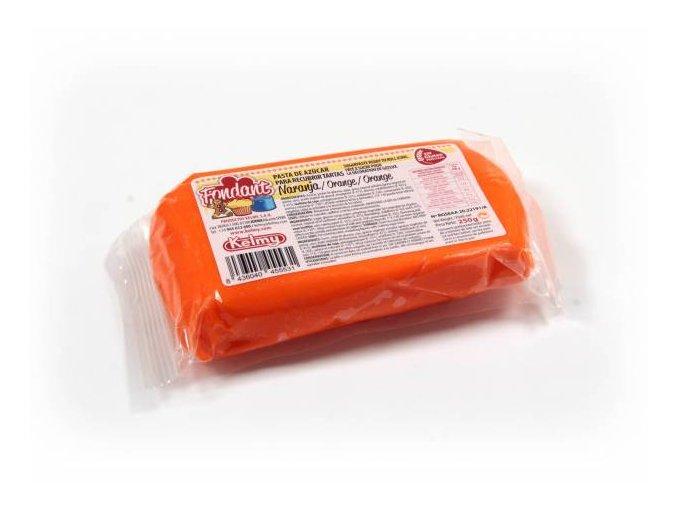 Fondánová hmota Kelmi 250 g oranžová