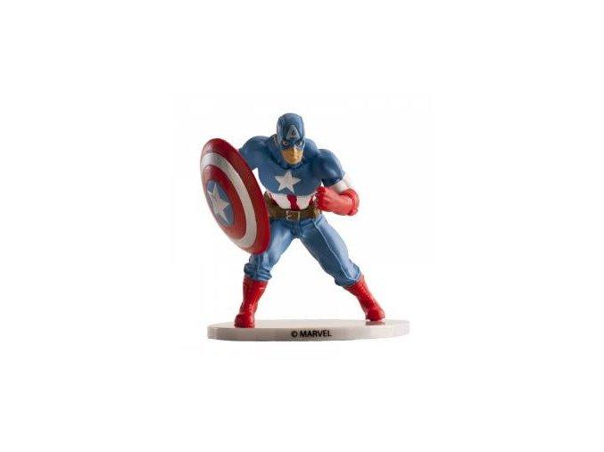 Kapitán Amerika 9 cm - nejedlá dekorace