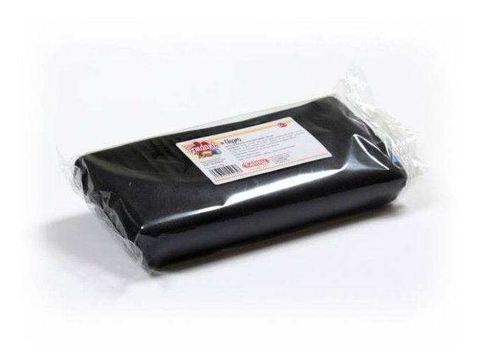 Fondánová hmota Kelmi 1 kg černá