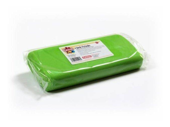 Fondánová hmota Kelmi 1 kg pistáciově zelená