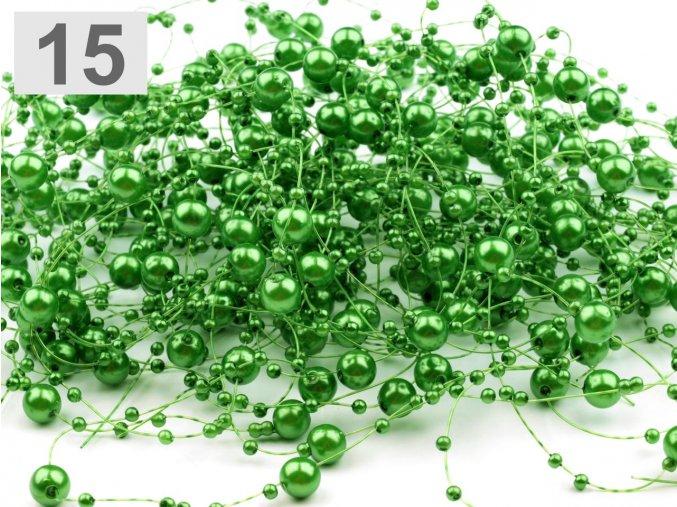Girlanda - jasně zelená
