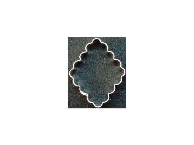 tac zlaty hruby vlnka obdelnik 17 x 35 cm 10 ks