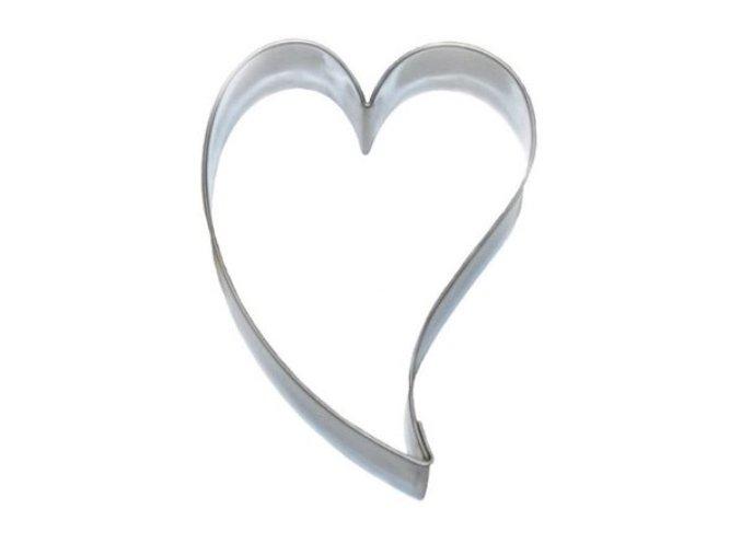 Srdce nepravidelné M - kov