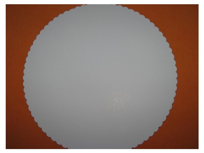 Papírová podložka karton/ 5ksM