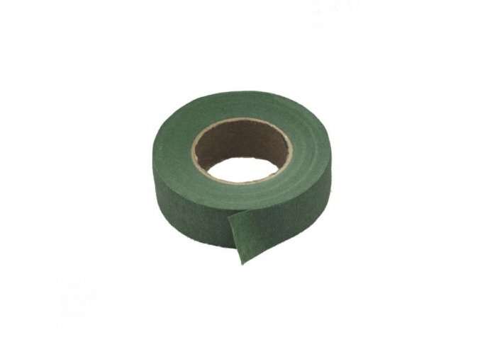 Floristická páska - tmavě zelená