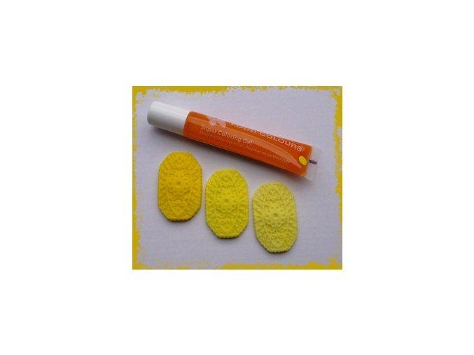 Žlutá - Food Colours tuba 20g