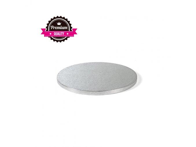 Stříbrná extra silná - kruh 26 cm