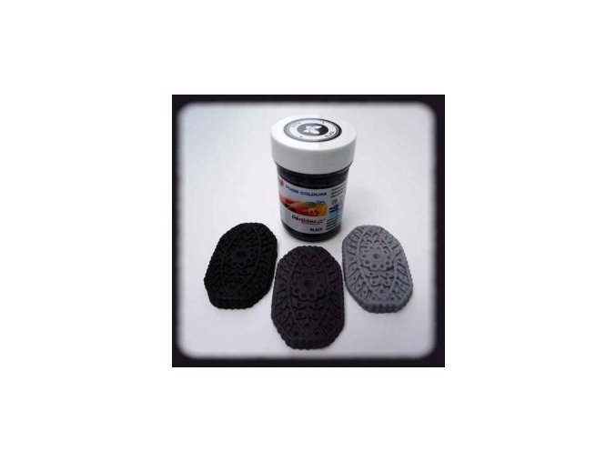 Černá - Food Colours kelímek 35 g