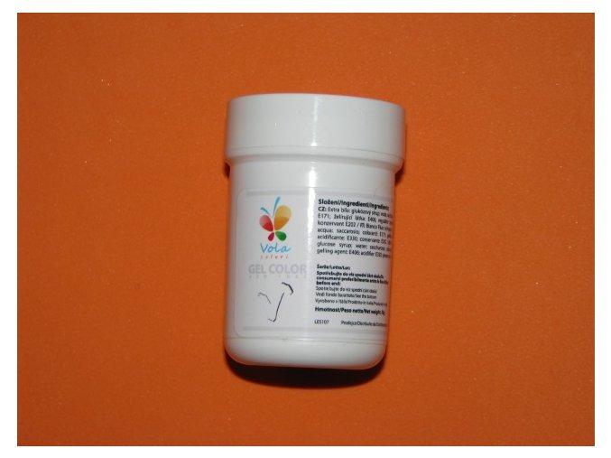 Gelová barva extra zářivě bílá 30 g
