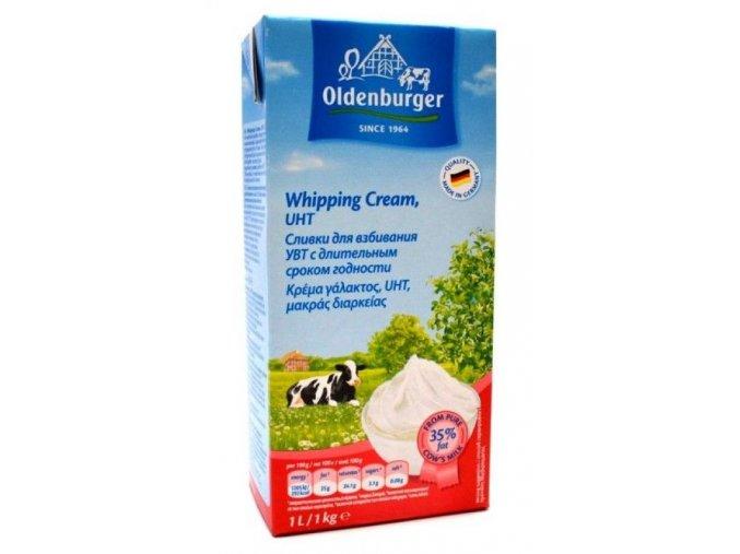 Živočišná šlehačka Oldenburg 35% 1l