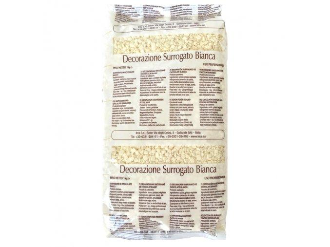 Bílé čokoládové šupinky 1 kg
