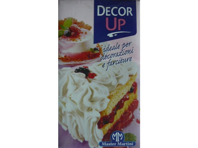 Rostlinná šlehačka slazená - DECOR UP 1l