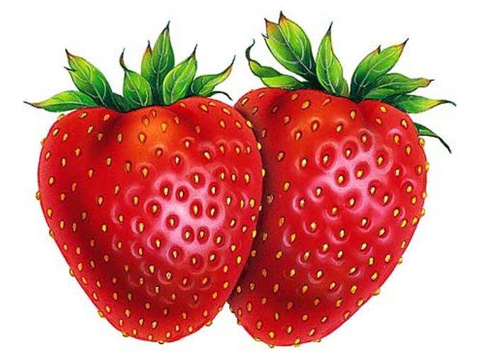 Ovocný gel jahoda