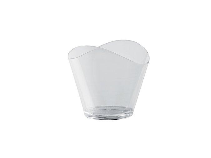 Plastový kelímek vlnky - 120 ml