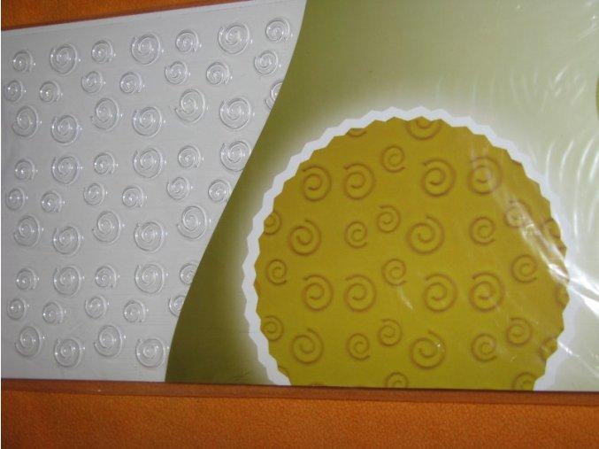 Textura - kroucené spirálky