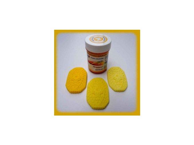Food Colours - zářivě žlutá kelímek 35 g
