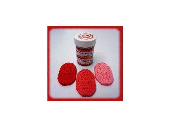 Food Colours  - zářivě červená kelímek 35 g
