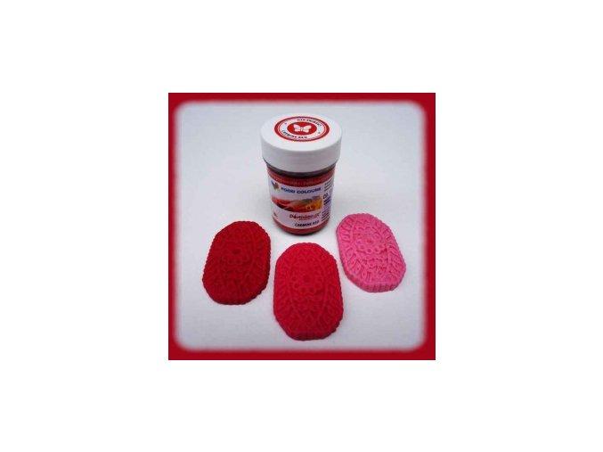 Food Colours - karmínově červená kelímek 35 g