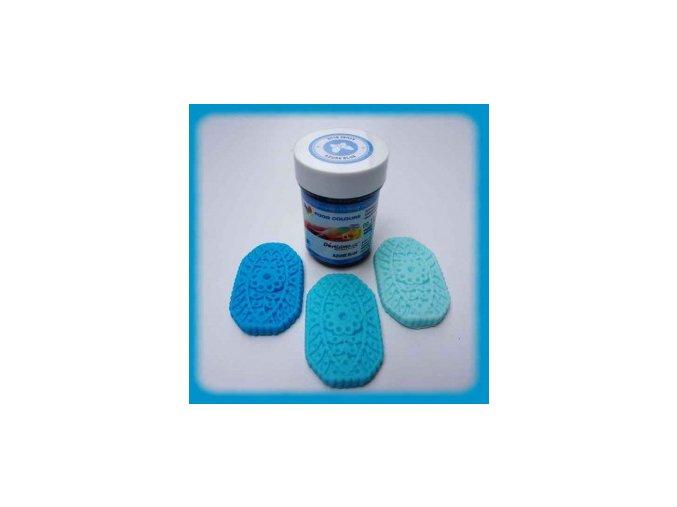 Food Colours - azurově modrá kelímek 35 g