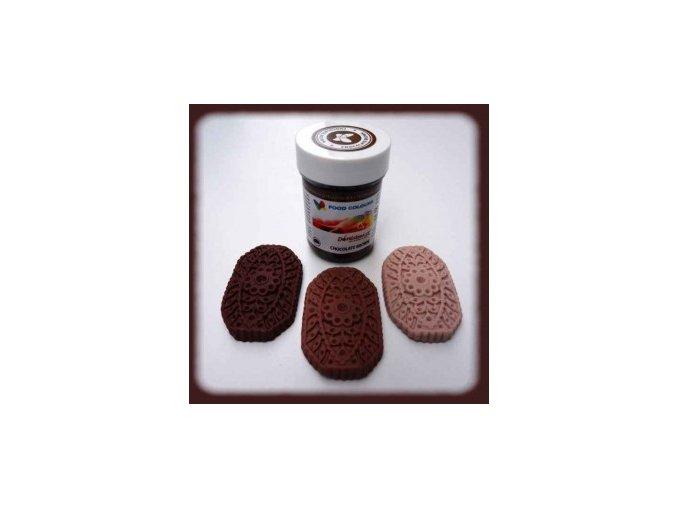 Food Colours - čokoládově hnědá kelímek 35 g