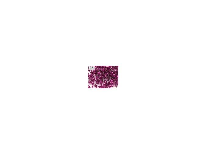 Girlanda - fialová