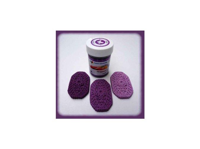 Food Colours - fialová kelímek 35 g
