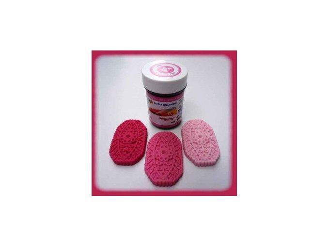 Food Colours - růžová kelímek 35 g