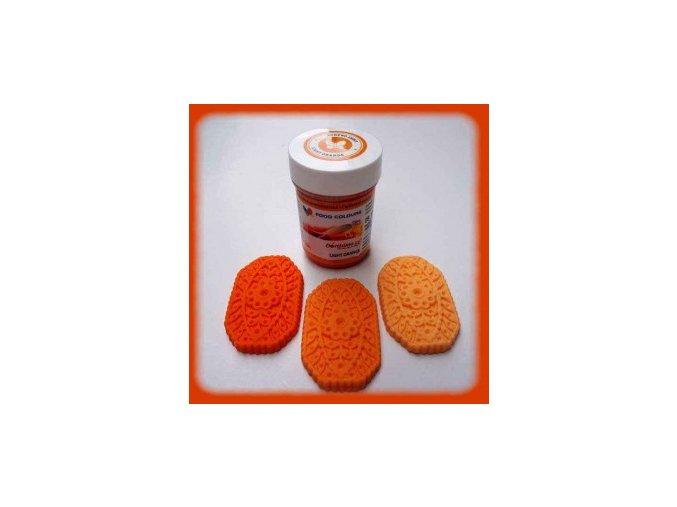 Food Colours - oranžová kelímek 35 g