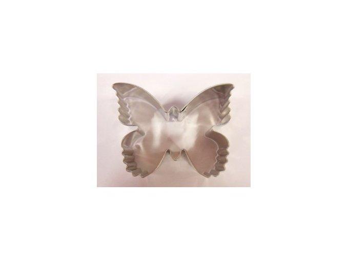 Motýlek zubatý - kov