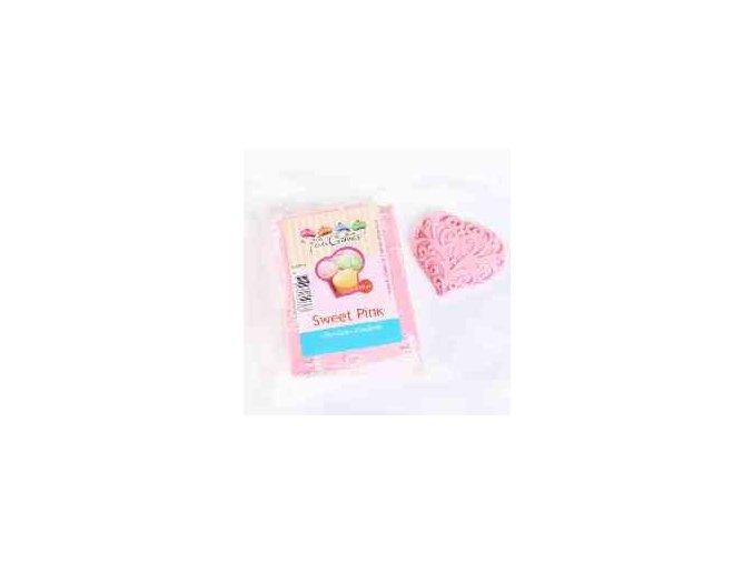 Fondánová hmota modelovací Sweet pink 250 g