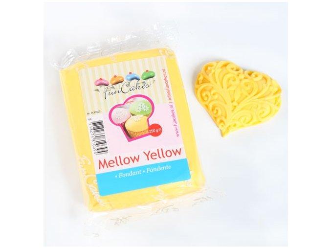 Fondánová hmota modelovací Mellow yellow 250 g