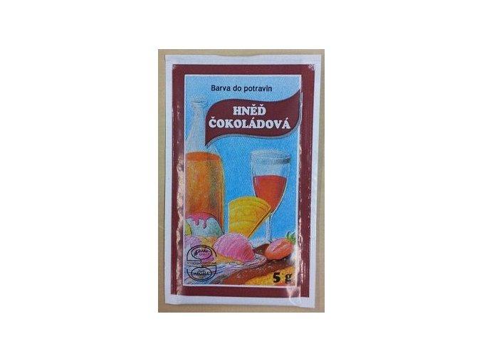 Potravin. barvivo - hněď čokoládová