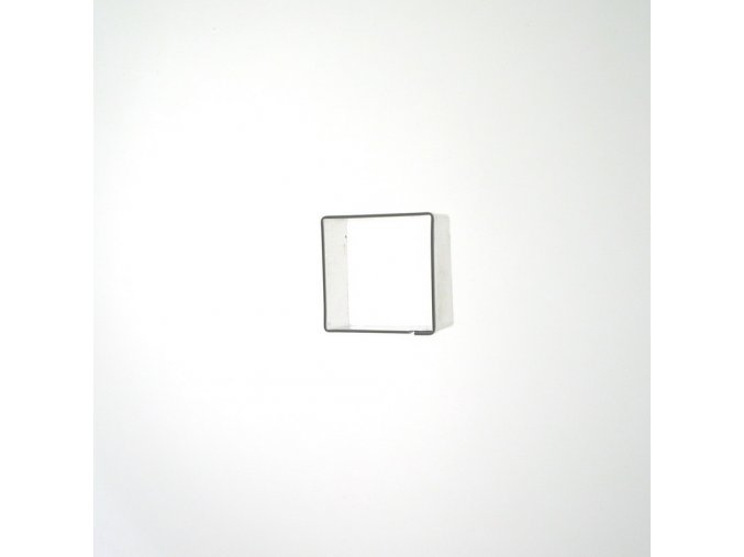 Čtvereček 25 x 25 mm - kov