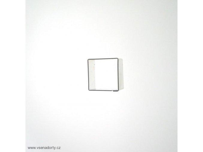 Čtvereček 15 x 15 mm - kov