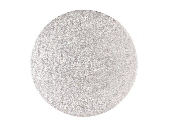 Stříbrná extra silná - kruh 30 cm