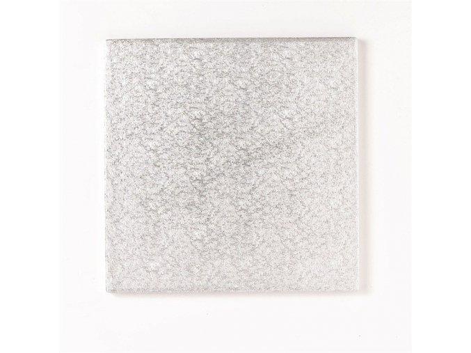 Stříbrná extra silná - čtverec 30,4 cm