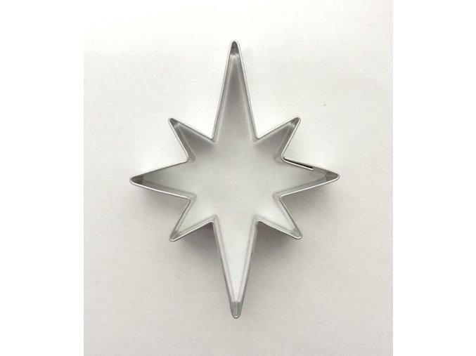 Hvězda nepravidelná - kov