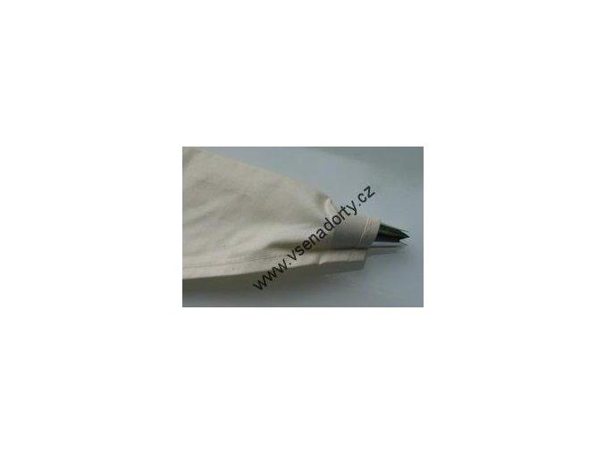 Cukrářský sáček bavlna 37 cm pogumovaný