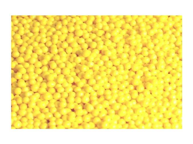 Cukrový máček žlutý